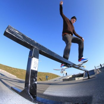 Flat Spot Rail Round To Go + Straight Extension
