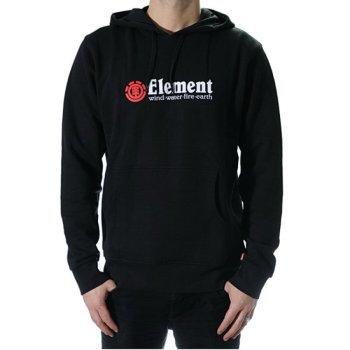 Element Horizontal black Hooded