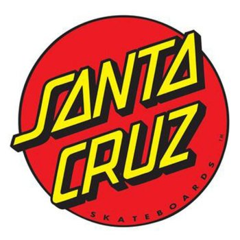 Santa Cruz Classic Dot 6 Sticker