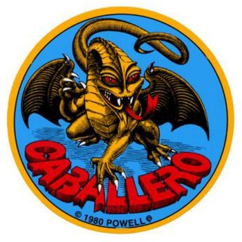 Powell Peralta Cab Original Dragon 3.5 Sticker
