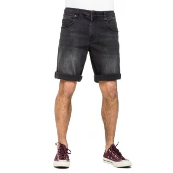 Reell Rafter II black denim Short