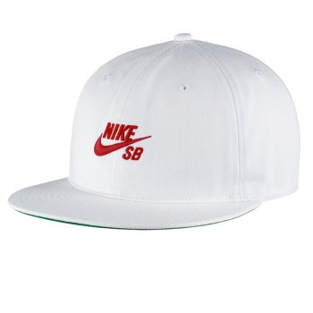 Nike SB Pro Vintage white/university red Snap Back Cap