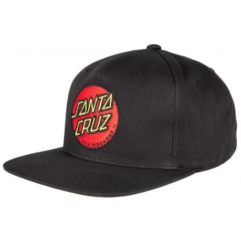 Santa Cruz Classic Dot black Snap back Cap