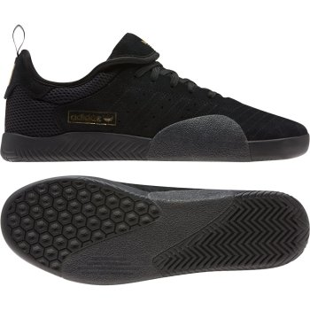 Adidas 3ST.003 core black/white/gold Shoes