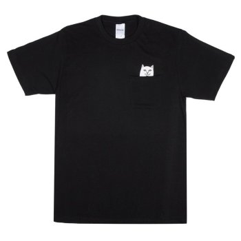 Rip N Dip Lord Nermal Pocket black T-Shirt