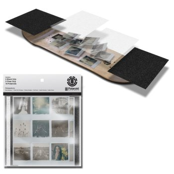 Element Polaroid 9 Griptape Pack