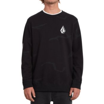 Volcom Deadly Stones Crew black combo Sweater