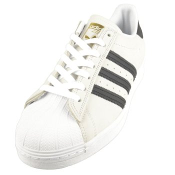 Adidas Superstar Adv white/black/gold Schuhe