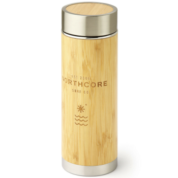 Northcore Bamboo Stainless Steel 360ml Thermosflasche