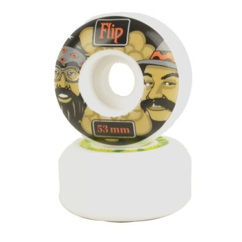 Flip Cheech & Chong green 99a/53mm Wheels