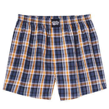 Lousy Livin Lousy Check curry gray Boxershort