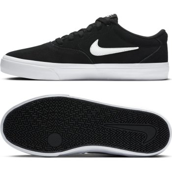 Nike SB Charge Suede black/white Shoes