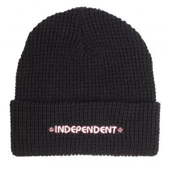 Independent Bar black Beanie