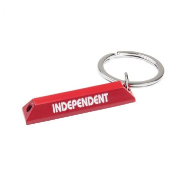 Independent Curb red Key Chain
