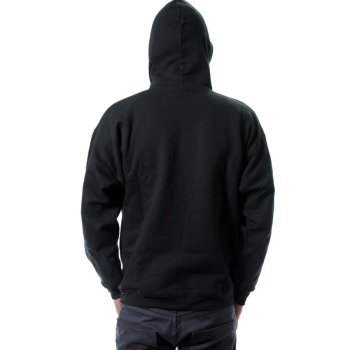 Thrasher Flame black Hooded