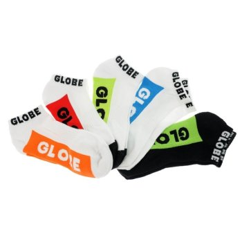 Globe Multi Brights 5er Pack Knöchel Socken