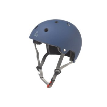 Triple 8 Brainsaver Dual Certified EPS blue Rubber Helm