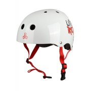 Triple 8 Little Tricky V2 white Gloss XXS/XS Kids Helm
