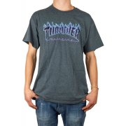 Thrasher Flame dark heather T-Shirt