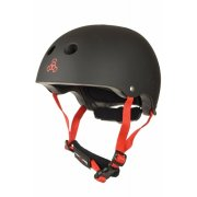 Triple 8 Lil 8 black Rubber XXS/XS Kids Helm