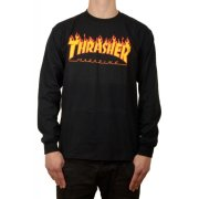 Thrasher Flame black Longsleeve