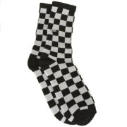 Vans Checkerboard Crew black/white Socken