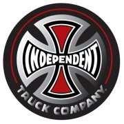 Independent Truck Co Decal 3 black/red Sticker