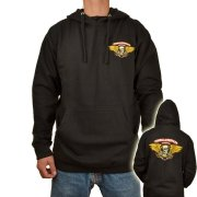Powell Peralta Winged Ripper black Hooded