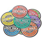 Sex Wax Circular Original Logo 7 Sticker