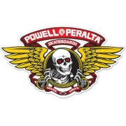 Powell Peralta Winged Ripper Die Cut red 5