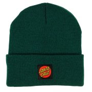Santa Cruz Classic Label Dot forest Beanie
