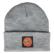 Santa Cruz Classic Label Dot dark heather Beanie