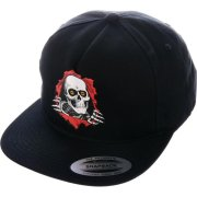 Powell Peralta Ripper black Snap back Cap