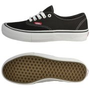 Vans Authentic Pro black/true white Schuhe
