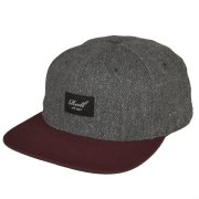 Reell Pitchout charcoal speckle/maroon Cap