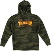 Thrasher Flame forest camo Hooded