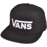 Vans Drop V II black/white Snap Back Cap