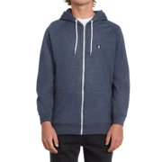 Volcom Timesoft blue black Hooded Zipper