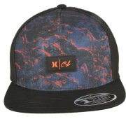 Hurley Clark Little Lava black Trucker Cap