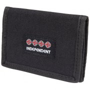 Independent Manner black Wallet