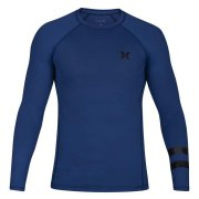 Hurley Pro Light Top L/S blue Rashguard Kids