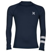 Hurley Pro Light Top L/S navy Rashguard Kids