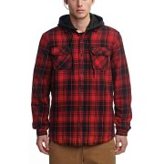 Globe Alford III oxblood Hooded Shirt