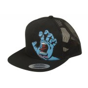 Santa Cruz Screaming Hand black Trucker Kids Cap