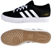 Adidas Matchbreak Super core black/white/gold Shoes