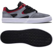 DC Kalis Vulc black/grey/red Shoes