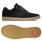 Es Accel Slim black/gum Shoes