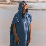 Northcore Beach Basha blue Poncho