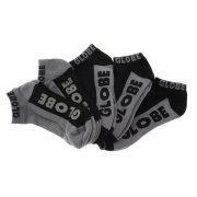 Globe New Tradie black/grey 5er Pack Knöchel Socken