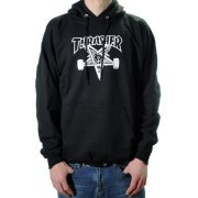 Thrasher Skategoat black Hooded